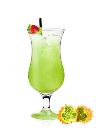 pahar cocktail green
