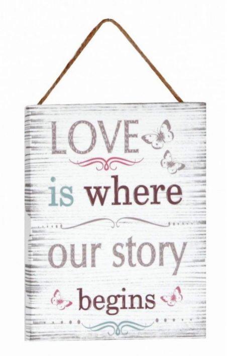 display-perete-love-is-where-our-story-begins