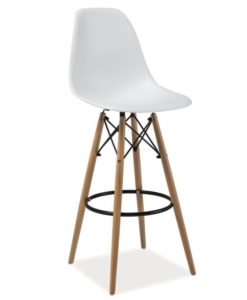 Scaun de bar Enzo H-1 - White